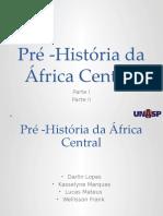Historia da África Central