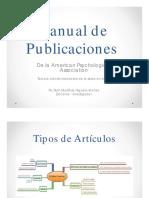 Manual de Publicaciones APA (Marzo de 2014)