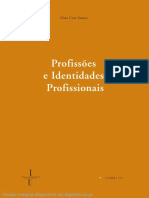 Profissões e Identidades Profissionais