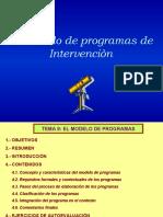 PPT Modelos de Programas de intervenciòn