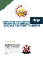 Fundamentos ISO 45001-2018