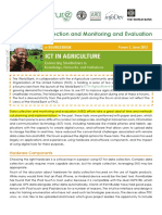 Article - ICT for Data Collection and M and E (e-agriculture, 2012)