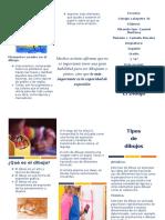 folleto dibujo