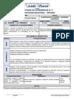 ACTIVIDAD DE APRENDIZAJE N° 2 ELABORACIÓN DE ESQUEMAS Y DIAGRAMAS ELÉCTRICOS