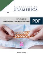 UNIDAD DIDÁCTICA 4.PLANIFICACION FAMILIAR, METODOS ANTICONCEPTIVOS