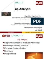 Gap Analyses (1)