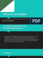 Derecho de Familia Presentacion Causal primera de disolucion