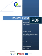 Manual Serviço pós venda