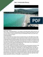 Body Image Site Titled Unattainable Beautyuqcka.pdf