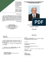 Invitatie-program Victor CIRIMPEI