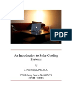 0005473 an Introduction to Solar Cooling Systems