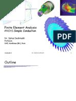 FEM ANSYS Pure Conduction (HT).pdf