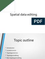 spatial data editing