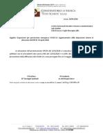 Disposizioni prevenzione COVID-19 del 10 aprile  2020