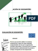 Subsistema de Desarrollo- Ev. de desempeño