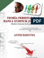 TEORÍA PERSONALIDAD Eysenck