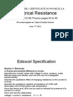 IGCSE-24-ElectricalResistance.ppt