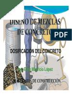 Diseño Mezclas- General y Resist