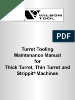 Tooling Maintenance Manual