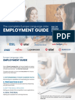 Employment Guide 2019