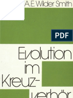 Evolution im Kreuzverhör