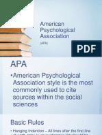 americanpsychologicalassociation-170301063157