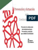 Presentacion protocolo Navarra Conductas Suicidas