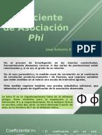 Coeficiente Phi Dzib