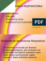 Síndrome de Insuficiencia Respiratoria