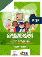 Comunidades de Aprendizaje Proceso en Colombia 2014-2017