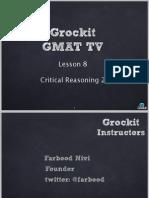 GMAT Lesson 8