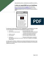 25. Práctica Visualización canal RSS en ListView