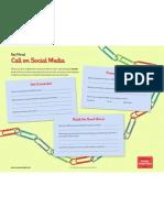 Call on Social Media