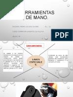 HERRAMIENTAS DE MANO