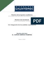3.2. Integración de los análisis cuantitativos Marquez libardo