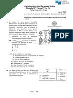 Ficha Formativa Final de capítulo biologia 12ºano unid 3