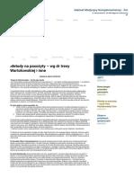 Metody na pasożyty – wg dr Ireny Wartołowskiej i inne | 3mmedical Medycyna Komplementarna – Kraków ; 3mmedical