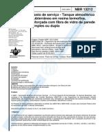 NBR 13212 de 2001 - Tanque Subterrâneo de Resina.pdf