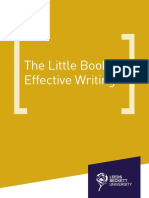 Little-Book-Of-Effective-Writing
