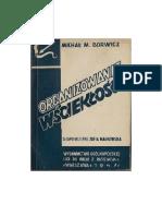 Michal (Michel) Borwicz - Organizowanie wscieklosci