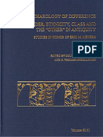 (The annual of the American schools ofArchaeology of Difference Gender, Ethnicity, Class And the Other in Antiquity Stududies
