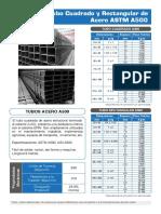 TUBOS CUADRADOS Y RECTANGULARES DE ACERO ASTM A500.pdf