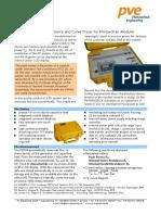 PVPM1000CX  Peak Power Measuring Device