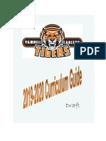 Curriculum Guide 2019-2020 (Draft)