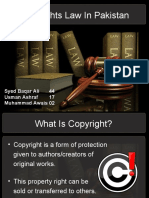 Copyrights Law in Pakistan Ppt.ppt