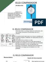 METROLOGÍA_ELCOMPARADOR DE CARATULA