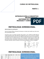 INTRODUCCIÓN A CONCEPTOS METROLOGICOS
