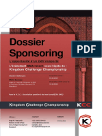 Sponsorship Proposal KCC