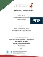ENSAYO AUDITORIA DE SISTEMAS
