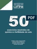 50exercicios Resolvidos Fertilidade Quimica Solo